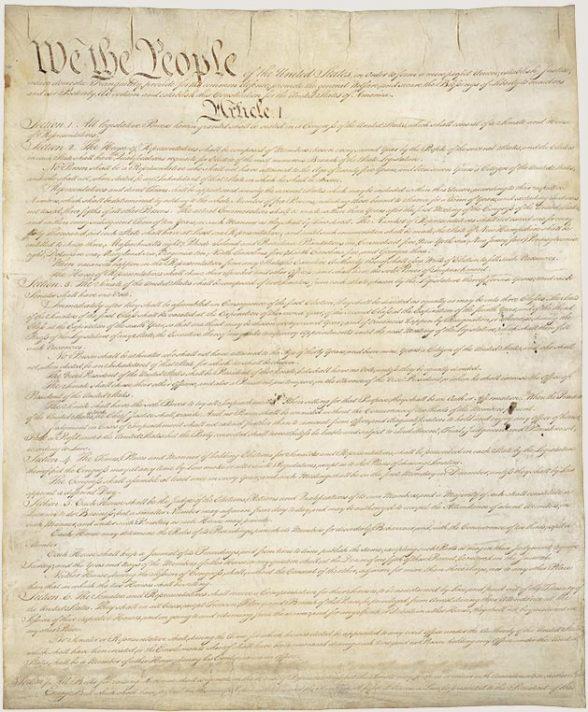 U.S. Constitution/Bill of Rights